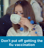 Don't put off the Flu Vaccination, click to find out more on our Influenza page